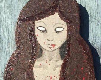 Zombie Mermaid Wall Art