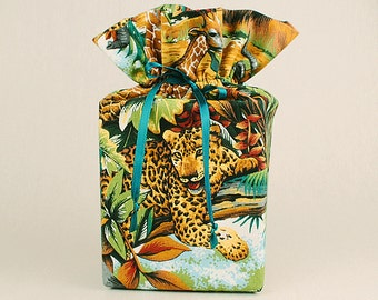 Tiger Tissue Box Cover/Kleenex Box Cover, Jungle Bathroom Accessories/Bathroom Decoration, Tiger Bathroom Accessories/Bathroom Decoration.
