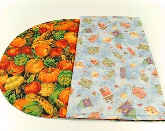 Bird Houses Table Runner Fall Table Runner Pumpkin Table Runner Country Table Cloth Bird Houses Table Cloth Halloween Table Cover
