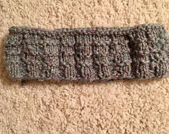 Speckled Gray Infinity Scarf