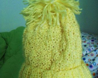 Snow Bunny Baby Hat