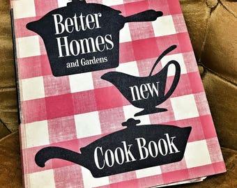 1953 Better Homes & Gardens new cookbook