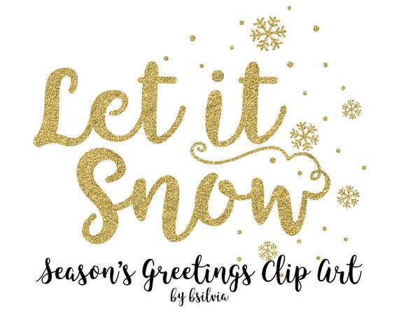 Season's Greetings Clip Art, Christmas Word Art Transparent PNG files, Christmas Greetings Overlays, Season's Greetings Glitter Clip Art