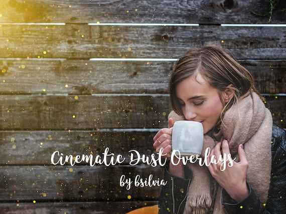 50 Cinematic Dust Photo Overlays, Bokeh Digital Backdrop, Cinematic Dust Photo Layer, Bokeh Light Effects, Photoshop Overlay, Commercial Use