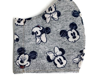 Mouse ears face mask
