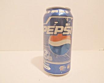 8d5e436e907 Collectible Cowboy Super Bowl XII Pepsi Can...With Contents