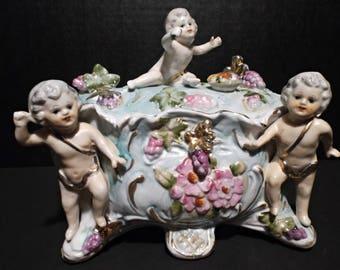 Wales Antique Large Trinket Box