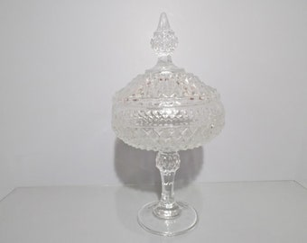 Indiana EAPG Pedestal Candy Dish