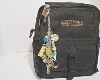 """Versatile Bag Charm Dangle Accessory Themed """"Golden State"""""""