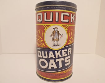 1990 Limited Edition Quaker Oats Tin