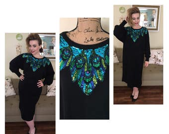 Sale! Let me see your Peacock sweater dress