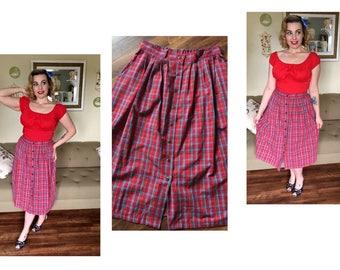 All American Seersucker Sweetheart skirt