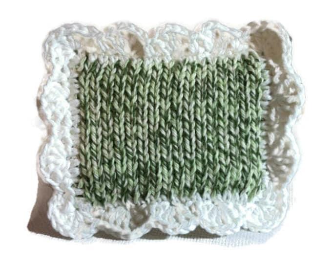 Scrubbie / Pot Scrubber / Dish scrubbie / Dish Cloth / Sponge / Nylon Scrubbie / Scrubber / Green Twists