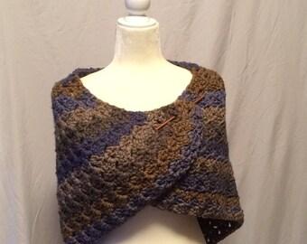 Crochet Shawl, Triangle Shawl