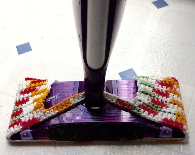 Mop Pad, Reusable Spray Mop Pad, Cotton Spray Mop Cover, Spray Mop Cover, Crochet Mop Pad, Cotton Spray Pad