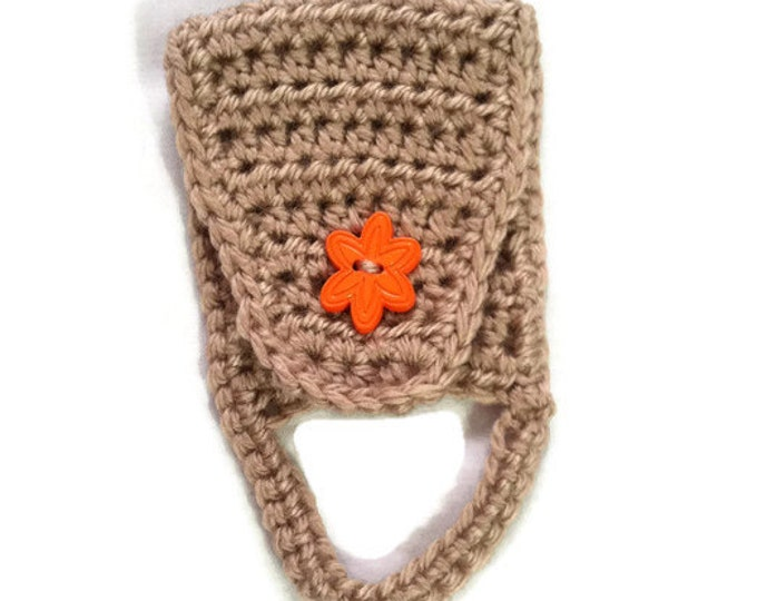 Towel Holder / Towel Ring / Towel Topper / Kitchen Towel Holder / Crochet Towel Holder