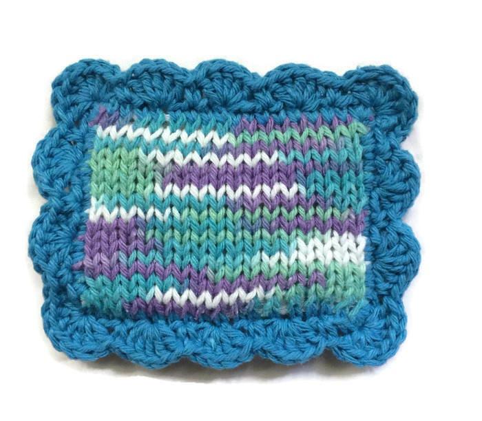 Knit Scrubby Pot Scrubber Dish Scrubbie Dish Cloth Sponge