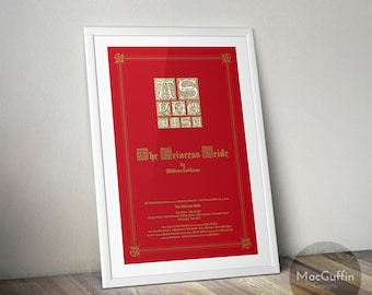 The Princess Bride poster (Made to order)