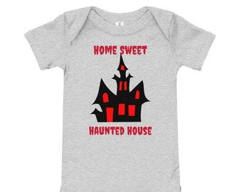 Home Sweet Haunted House Baby Infant One Piece Bodysuit