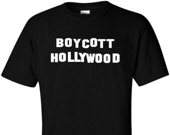 Anti Hollywood TShirt - Boycott