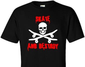 Skate Punk T-Shirt - Skateboarding