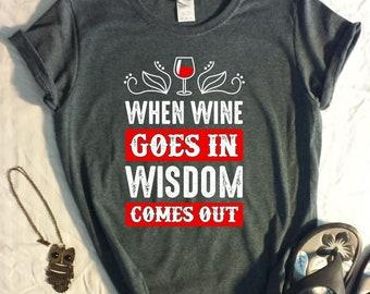 Wine TShirt - Bachelorette Party Shirts