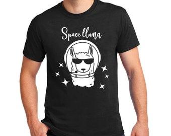 Funny Space Llama Shirt