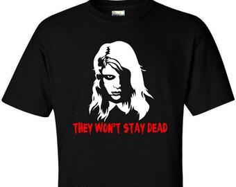 Horror Movie Shirt - Living Dead Girl