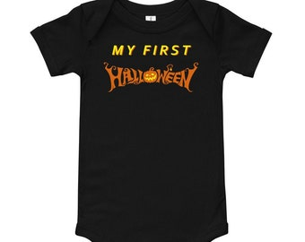 My First Halloween Baby Infant Clothing One Piece