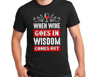 T-Shirt for Wine Drinkers