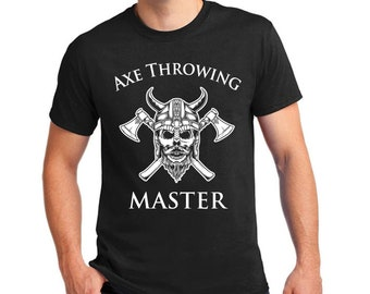 Cool TShirt for Axe Throwing Masters