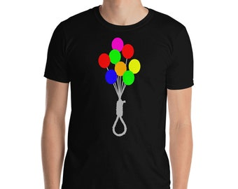 Funny T-Shirt - Balloons with Noose
