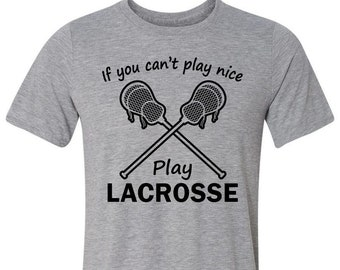 T-Shirt for Lacrosse Players - College Sports