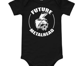 Future Metalhead T-Shirt Bodysuit for Babies Infants