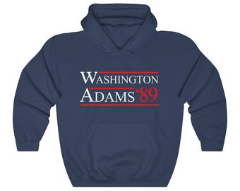 George Washington Election Campaign of 1789 Hoodie Sweatshirt
