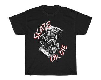 Skateboarding Skate or Die TShirt