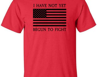 Patriotic T-Shirt with the American Flag