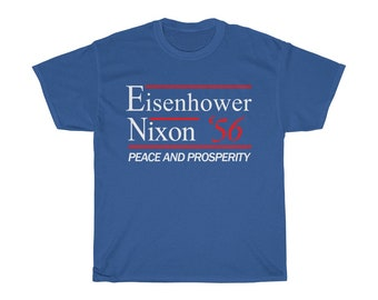 Eisenhower 1956 Election Campaign for President