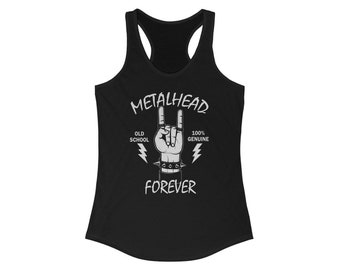Heavy Metal Forever Womens Tank Top