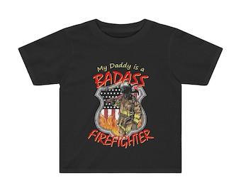 My Daddy Firefighter Kids TShirt 2T 3T 4T