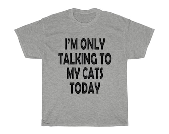 Funny TShirt for Cat Owners