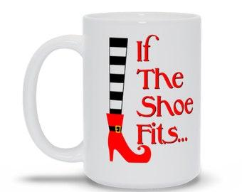 Witch Shoe Fits Wizard Of Oz Movie Mug