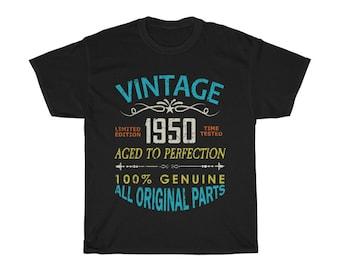 70th Birthday Gift Born in 1950 TShirt