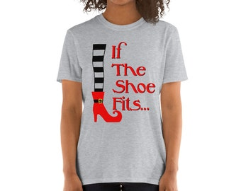 Witch Shoe Fits Wizard of Oz Tee