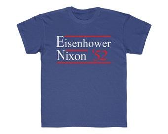 Kids Tee Eisenhower Nixon 1952 Election Campaign