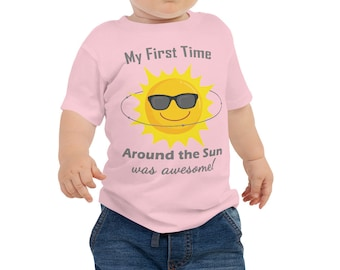 Baby Tee First Birthday One Year Old Gifts