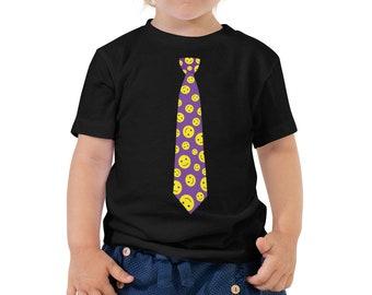Funny Necktie Toddler Short Sleeve TShirt Tee
