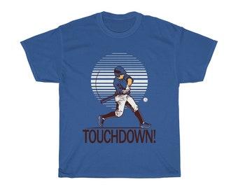 Funny Baseball Touchdown TShirt