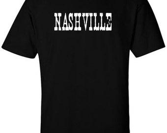 NASHVILLE T-Shirt Country Music Nashville Clothing Grand Ole Opry