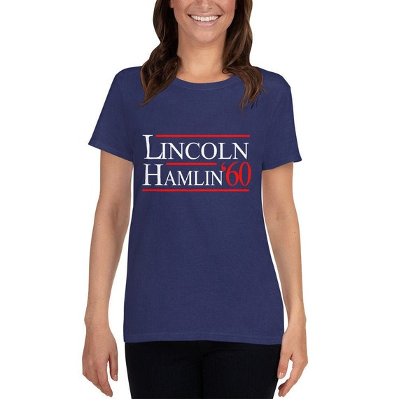 Abraham Lincoln 1860 Election Campaign for President T-Shirt